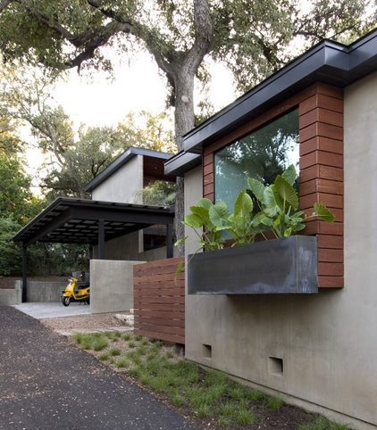 Contemporary Exterior by Urban Jobe Architecture