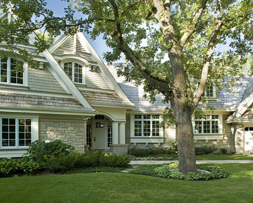 Cape cod grey home design ideas pictures remodel and decor for Cape cod house exterior design