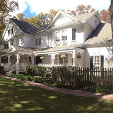 Traditional Exterior by Kipnis Architecture + Planning