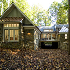 Traditional Exterior by KohlMark Architects and Builders