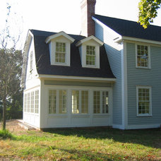 Traditional Exterior by Lacey Custom Carpentry