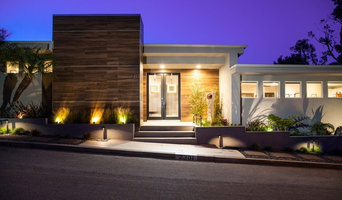 Exterior lighted night view