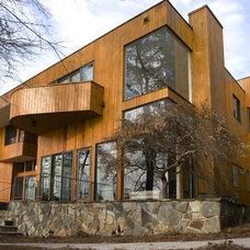 Modern Exterior by Luck Stone Center
