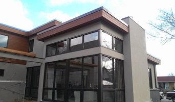 Exterior Maibec, Stucco & Stone Design - Custom Home Toronto