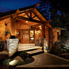 Traditional Exterior by Julie & Jon Nordby