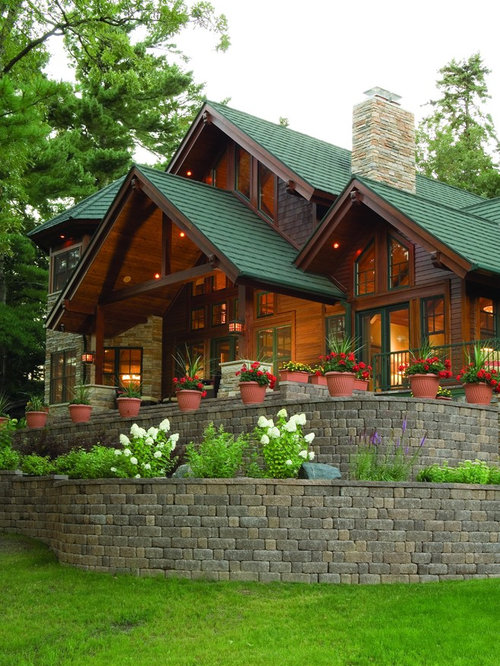Green Shingle Roof Home Design Ideas Pictures Remodel