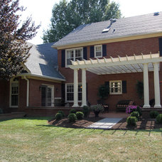 Farmhouse Exterior by Mulberry Builders LLC