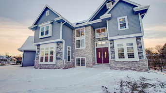 Exterior of a Brookfield Custom 2-Story Residence