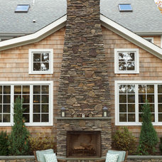 Traditional Exterior by Ellen McKenna Design