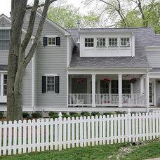 Traditional Exterior by Finecraft Contractors, Inc.