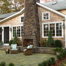 Traditional Exterior by Ellen McKenna Design