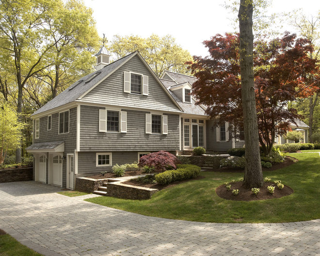 Traditional Exterior by Creative West Architects
