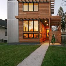 Contemporary Exterior by RoehrSchmitt Architecture