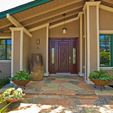 Contemporary Exterior by Bill Fry Construction - Wm. H. Fry Const. Co.