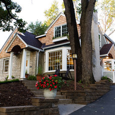 Traditional Exterior by Orfield Remodeling, Inc