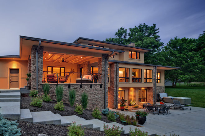 contemporary exterior by rwa architects