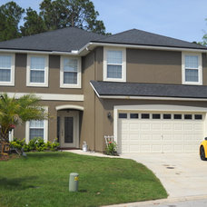 Contemporary Exterior by A New Leaf Painting, LLC
