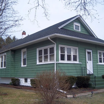 Exterior Painting - Green Cottage House in Ocean City, NJ