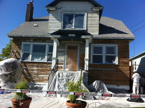 Traditional Exterior by CertaPro Painters of Seattle