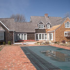 Lake House Beach Style Exterior New York By Mfm