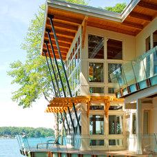 Contemporary Exterior by Allegretti Architects, Inc.