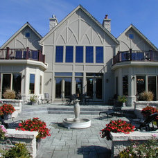 Traditional Exterior by Fein Design