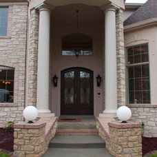 Traditional Exterior by Bozich Construction