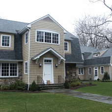 Traditional Exterior by Creative Carpentry & Design Inc.