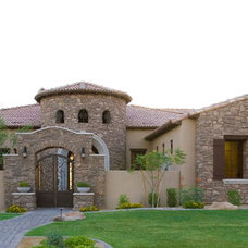 Mediterranean Exterior by Quay Homes LLC.