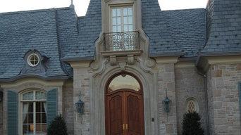 Exterior Railings & Stone