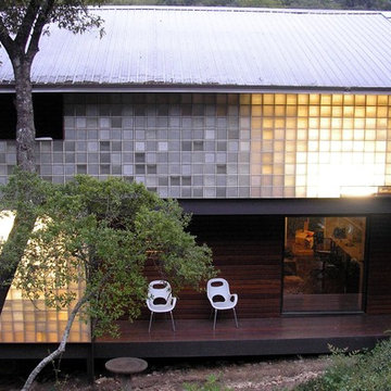 Exterior - Recycled Glass Blocks
