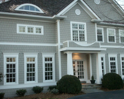 Sherwin Williams Intellectual Grey Exterior Design Ideas