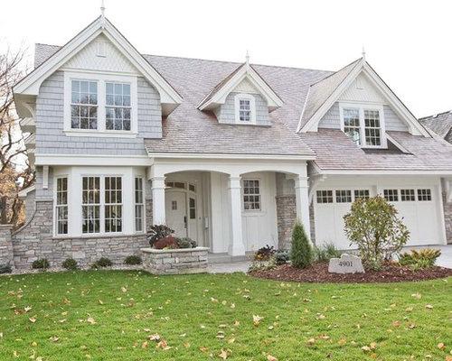 Stone Stucco Elevation : Stone stucco front elevation home design ideas