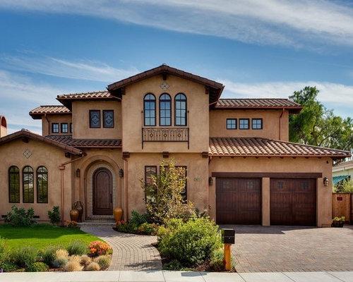 Fassadenfarbe mediterran braun  Fassadenfarbe Mediterran Braun | Haus Deko Ideen