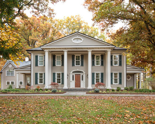 Southern Colonial Home Design Ideas Pictures Remodel And