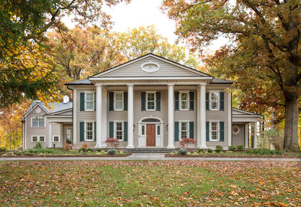 American Traditional Exterior by Nicholson Builders