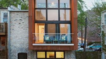 Exterior Renovation + Modern Addition