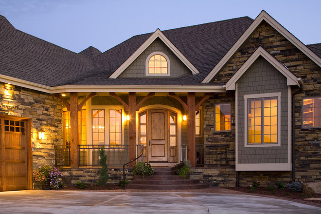 Eclectic Exterior by Rentfrow Design, LLC