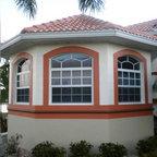 Triangle Brick S Key West Contemporary Exterior