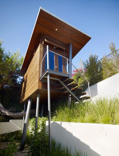 Modern Exterior by Rockefeller Kempel Architects