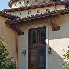Mediterranean Exterior by RWA Architects