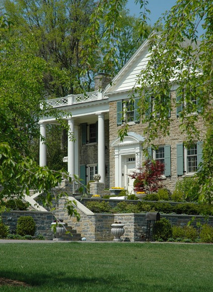 traditional exterior by RWA Architects