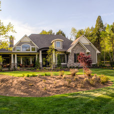 Craftsman Exterior by Luxe Homes and Design