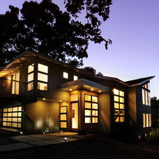 Contemporary Exterior by SDG Architecture, Inc.