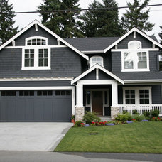 Traditional Exterior by DME Construction