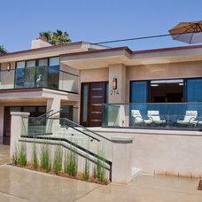 Contemporary Exterior by Marrokal Design & Remodeling