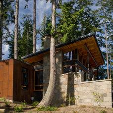 Contemporary Exterior by Krannitz Gehl Architects