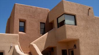 Exterior Southwestern Homes