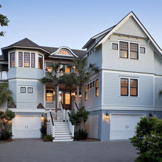 Beach Style Exterior by Amy Trowman Design