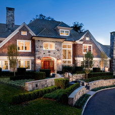 Traditional Exterior by Steven Mueller Architects, LLC